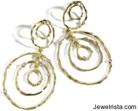 Earrings From The Zen Collection By Osnat Weingarten