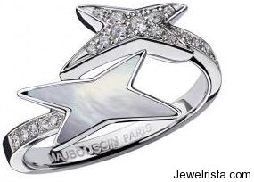Etoile, Etoile de Vie Ring (Diamonds, Mother of Pearl) By Mauboussin