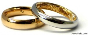 Fingerprint Wedding Bands By Andrew English