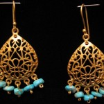 Firouzeh Collection Earrings By Touran Reddaway