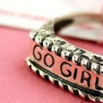 Go Ring Breast Cancer Awerness Ring By Dian Malouf