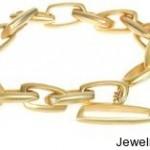 Gold Link Bracelet By Sarah Sheridan