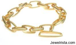 Gold Bracelet by Jewelry Designer Sarah Sheridan