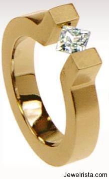 Gold Ring by Jewelry Designer Angela Fung