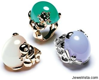 Gourmande Rings by Jewelry Designer Christian Dior