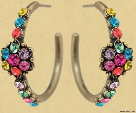 Hoop Earrings By Michal Negrin