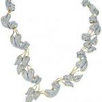 Jean Schlumberger Leaves Diamond Necklace Jewelry