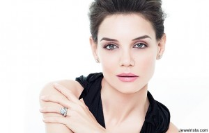 Katie Holmes for Jewelry Design Brand H. Stern Brazil
