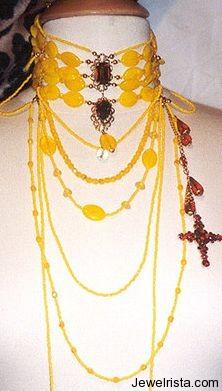 Necklaces by Jewelry Designer Dominique Demoniere