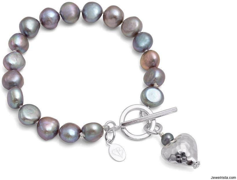 Pearl Bracelets by Jewelry Designer Claudia Bradby