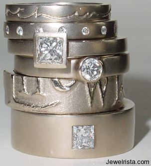 Rings by Jewelry Designer Diana Porter