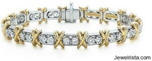 Schlumberger 36 Stone Bracelet