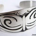 Silver Cuff Butterfly Bracelet By Jessie Turner