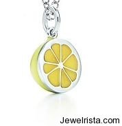 Paloma Picasso Fruit Charms by Jewelry Designer Tiffany & Co