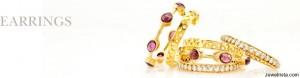 Earrings by Robindira Unsworth Jewelry Designers