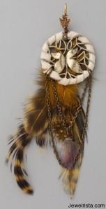 cynthia dugan jewelry feather earrings