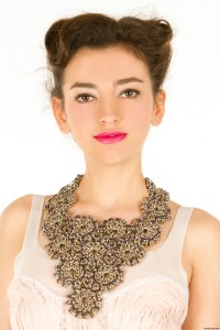 chainmaille bib necklace maria pryor