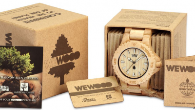 Beautiful Watches Made of Wood