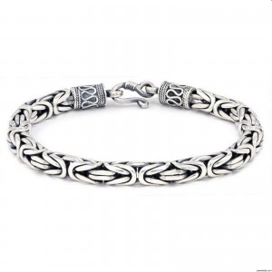 Sterling Silver Bracelets For Women-  1