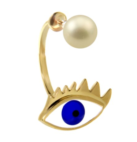 Eye Piercing Earring by Delfina Delettrez 385 Euro