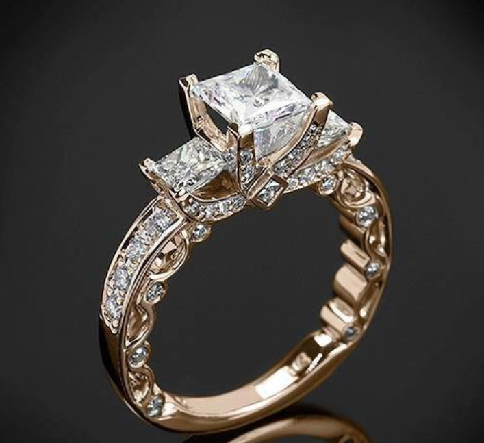 Antique Wedding Rings - Stylish