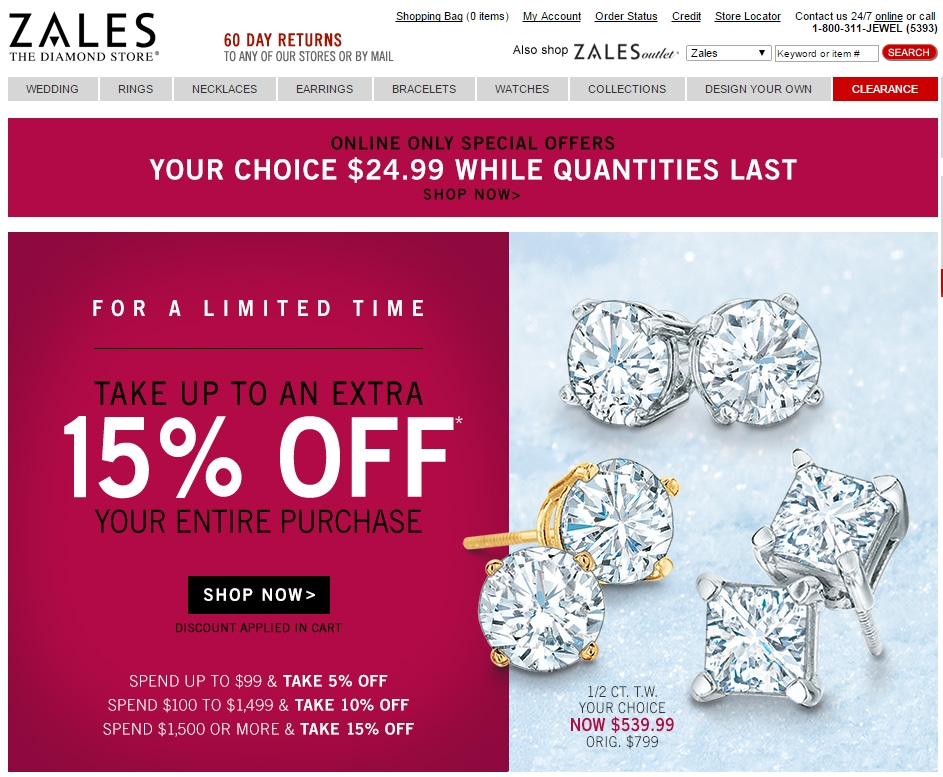 Best Online Jewelry Stores 3 Zales