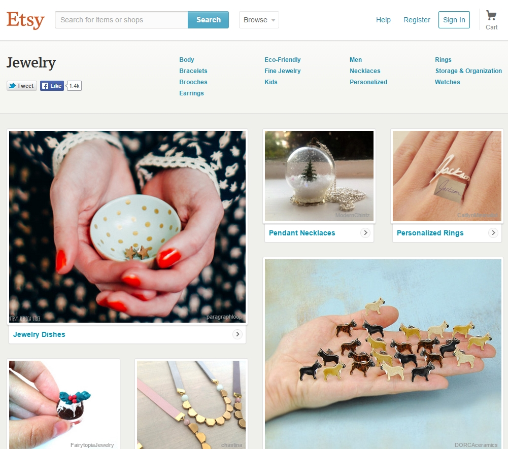 Best Online Jewelry Stores 6 Etsy