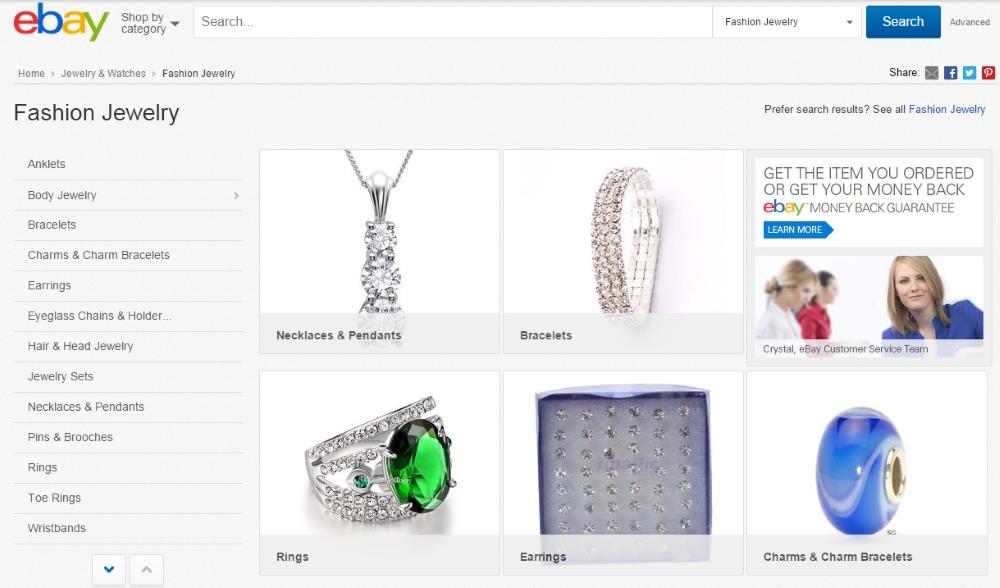 Best Online Jewelry Stores 7 Ebay Jewelry