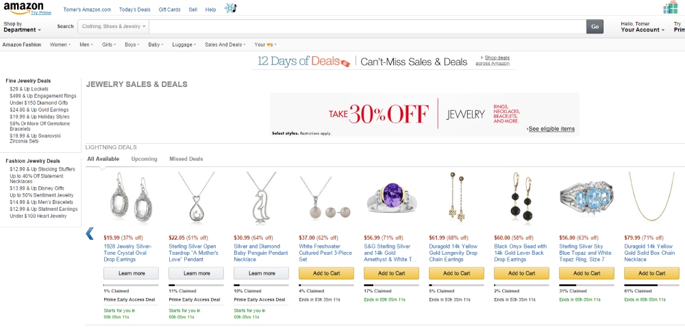 Best Online Jewelry Stores 8 Amazon Jewelry