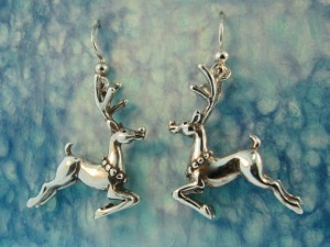 Christmas Jewelry Gift Ideas Reindeer Earrings