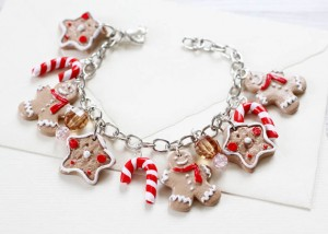 Christmas Jewelry Gift Ideas Ginger Bread Bracelet
