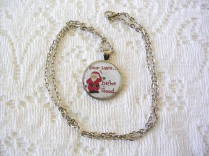 Christmas Jewelry Gift Ideas Santa Necklace Define Good