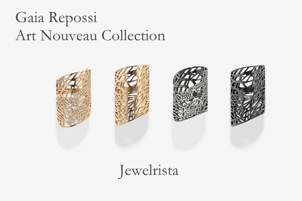 Gaia Repossi Art Nouveau Designer Jewelry Collection