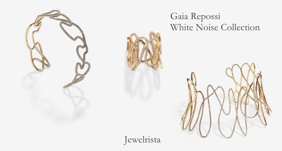 Gaia Repossi White Noise Designer Jewelry Collection