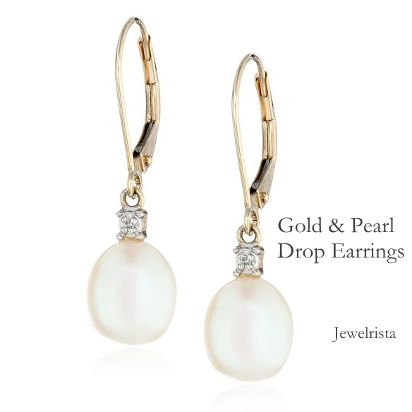 Last Minute Gift Idea - Pearl Earrings