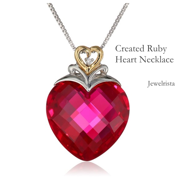 Last Minute Gift Idea - Heart Necklace