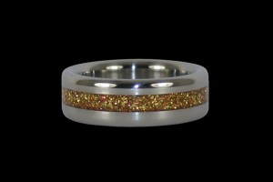 New Years Eve Jewelry 7 Metallic flake ring
