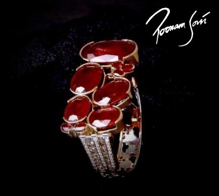 Top 10 Jewelry Designers in Asia Poonam Soni Signature Bracelet