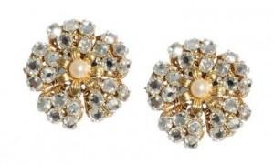 Flower Earrings 4 - Swarovski