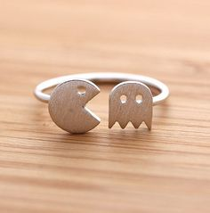 Pacman Jewelry 2c - Pacman Open Ring