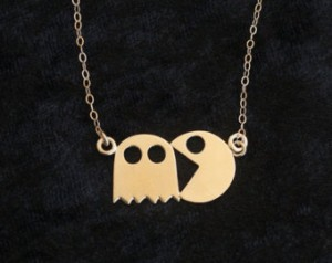 Pacman Jewelry 5 - Pacman Necklace
