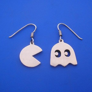 Pacman Jewelry 6 - Pacman Earrings