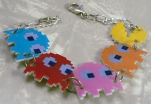 Pacman Jewelry 7 - Pacman Bracelet