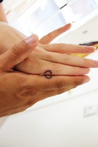 Ring Tattoos 3 - Completing Wedding Ring Tattoos